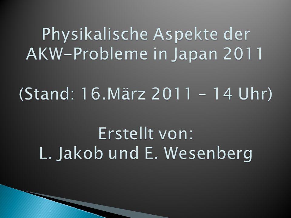 http://de.wikipedia.org/wiki/Fukushima_1 (Datum des Zugriffs: 13.03.2011 - 16 Uhr) http://de.wikipedia.org/wiki/Fukushima_1 http://de.wikipedia.org/wiki/Kernschmelze (Datum des Zugriffs: 13.03.2011 - 16 Uhr) http://de.wikipedia.org/wiki/Kernschmelze http://de.wikipedia.org/wiki/Katastrophe_von_Tschernobyl (Datum des Zugriffs: 13.03.2011 - 15:30 Uhr) http://de.wikipedia.org/wiki/Katastrophe_von_Tschernobyl http://www.n-tv.de/Spezial/Was-bedeutet-Fukushima-4-article2826246.html (Datum des Zugriffs: 13.03.2011 - 16:30 Uhr) http://www.n-tv.de/Spezial/Was-bedeutet-Fukushima-4-article2826246.html http://www.n-tv.de/Spezial/Japan-steht-vor-einer-nuklearen-Katastrophe- article2835141.html (Datum des Zugriffs: 14.03.2011 - 16:00 uhr) http://www.n-tv.de/Spezial/Japan-steht-vor-einer-nuklearen-Katastrophe- article2835141.html http://umweltinstitut.org/fragen--antworten/radioaktivitat/jodversorgung- bei-nuklearer-freisetzung-39.html (Datum des Zugriffs: 14.03.2011 - 17 Uhr) http://umweltinstitut.org/fragen--antworten/radioaktivitat/jodversorgung- bei-nuklearer-freisetzung-39.html http://www.morgenpost.de/printarchiv/politik/article1574485/Merkels- Furcht-vor-der-Atomdebatte.html (14.03.2011 - 17Uhr) http://uk.reuters.com/article/2011/03/14/us-japan-quake-nuclear-france- idUKTRE72D6PR20110314 http://uk.reuters.com/article/2011/03/14/us-japan-quake-nuclear-france- idUKTRE72D6PR20110314 http://www.spiegel.de/panorama/0,1518,751203,00.html (16.03.