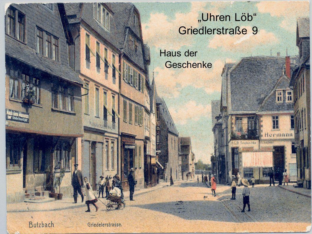 Uhren Löb Griedlerstraße 9 Haus der Geschenke