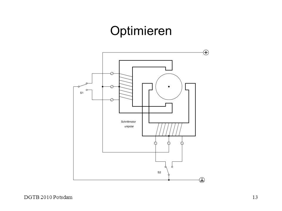 DGTB 2010 Potsdam13 Optimieren