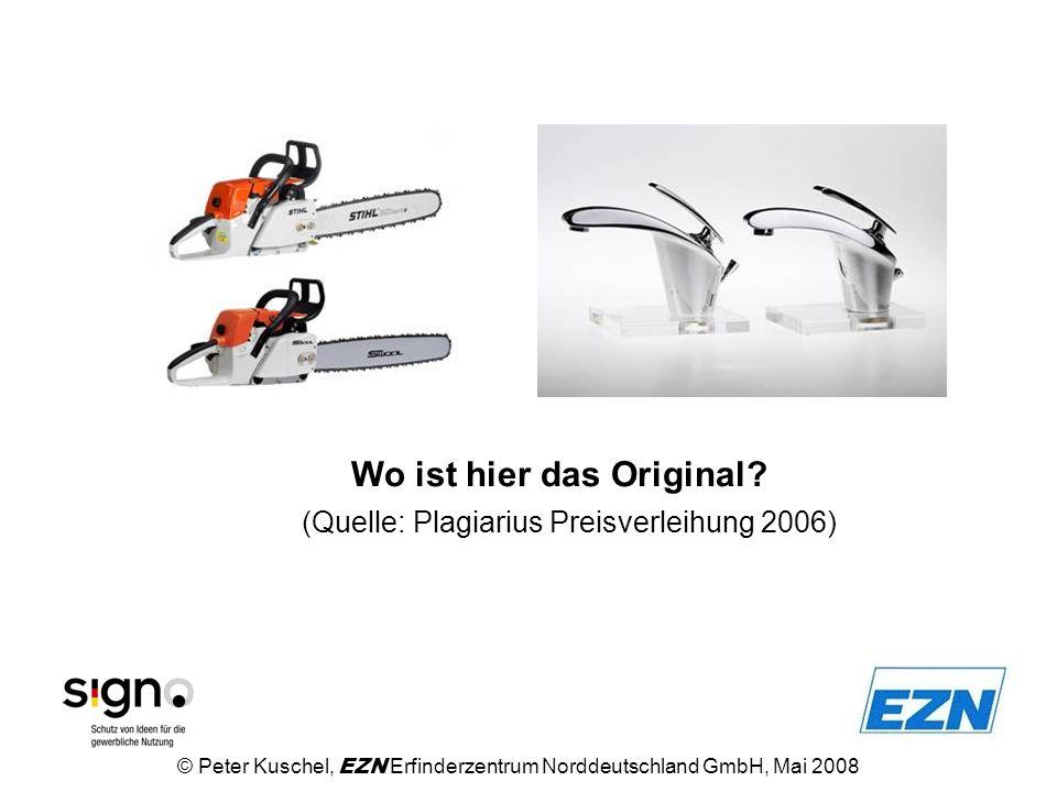 Fakten: © Peter Kuschel, EZN Erfinderzentrum Norddeutschland GmbH, Mai 2008 Der Zoll im Jahre 2006 bei 9.164 Aufgriffen Waren im Wert von über 1,175 Mrd.
