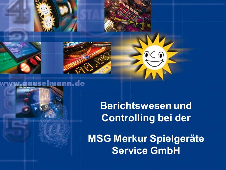 24. Januar 2014adp merkur serviceSeite 1 Berichtswesen und Controlling bei der MSG Merkur Spielgeräte Service GmbH
