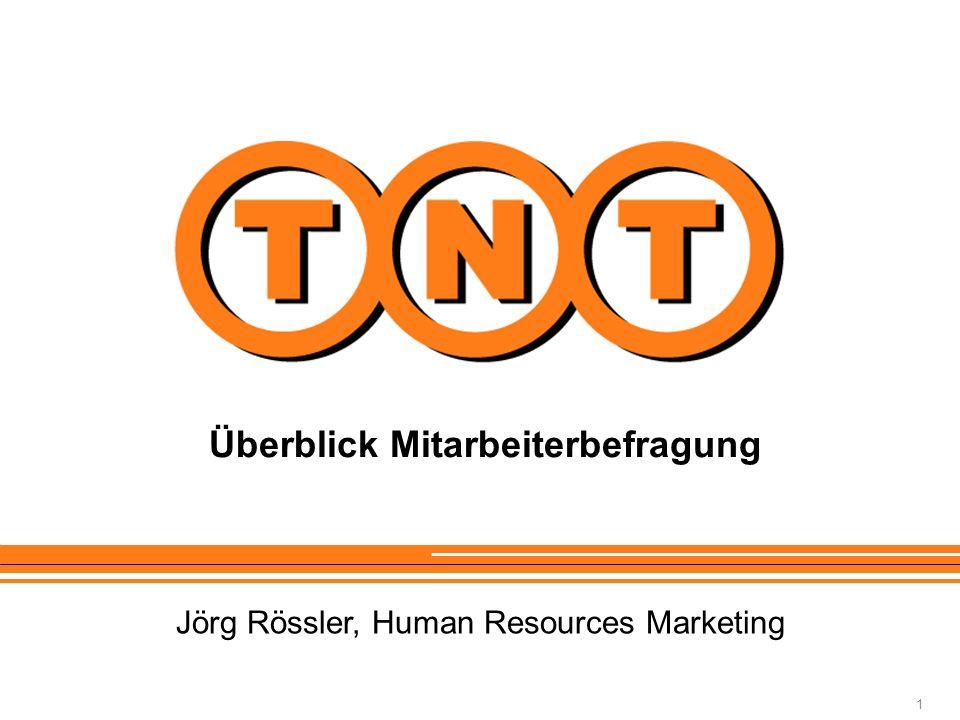1 Überblick Mitarbeiterbefragung Jörg Rössler, Human Resources Marketing