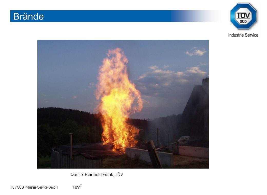 TÜV SÜD Industrie Service GmbH 24.01.2014Abteilung:9 Explosionsschaden an einem Faulturm/Kläranlage Explosionen Quelle: Reinhold Frank, TÜV