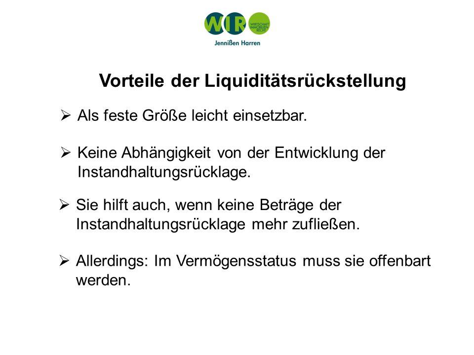 Die Bedeutung des Rücklagenbankkontos BGH V ZR 44/09: Das Rücklagenbankkonto verkörpert nicht die sog.