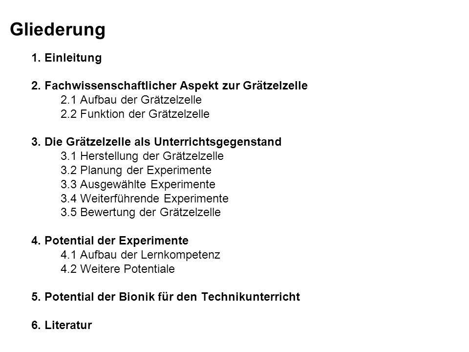 4.Potential der Experimente 4.1.