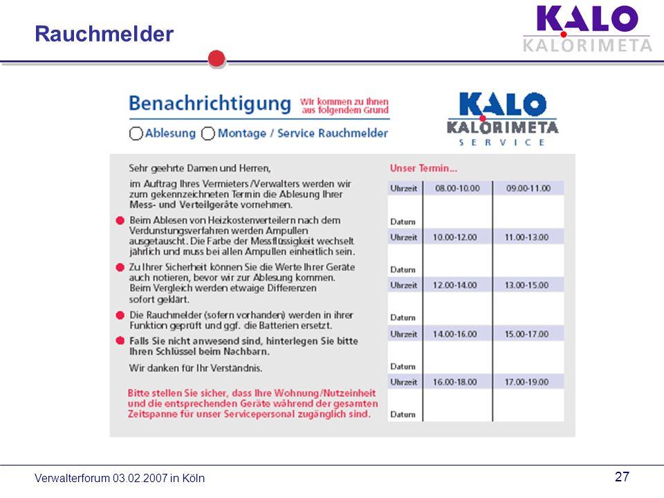 Verwalterforum 03.02.2007 in Köln 26 Rauchmelder