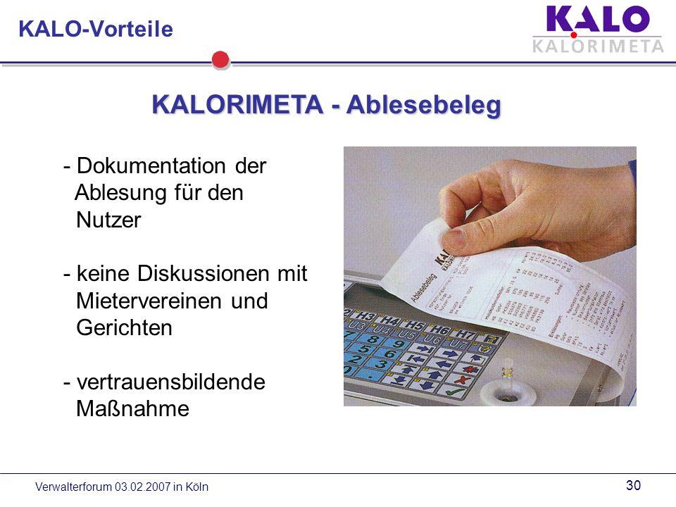 Verwalterforum 03.02.2007 in Köln 29 Gerätemontage Gerätemontage am Beispiel Flammex Ggf.