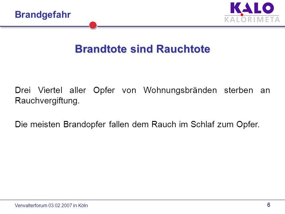 Verwalterforum 03.02.2007 in Köln 36 Rauchmelder