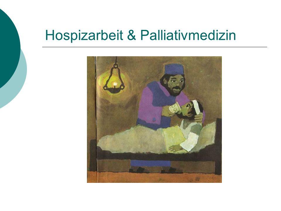 Hospizarbeit & Palliativmedizin