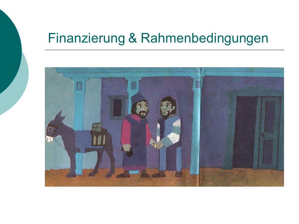 Finanzierung & Rahmenbedingungen