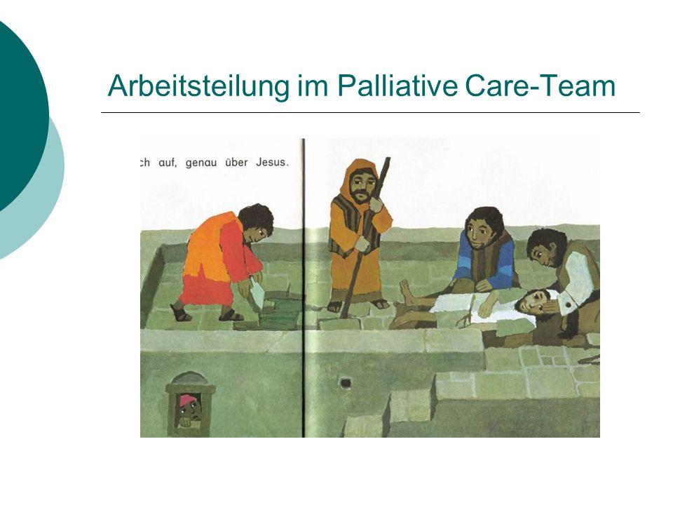 Arbeitsteilung im Palliative Care-Team