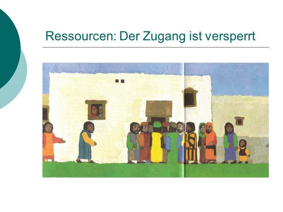 Ressourcen: Der Zugang ist versperrt