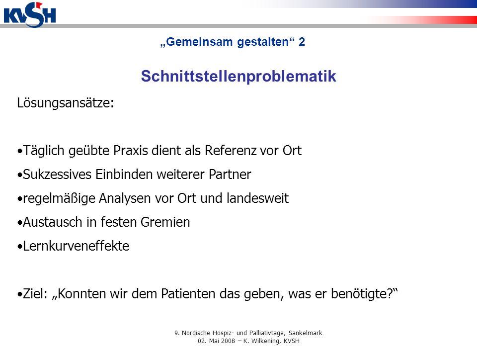 9.Nordische Hospiz- und Palliativtage, Sankelmark 02.