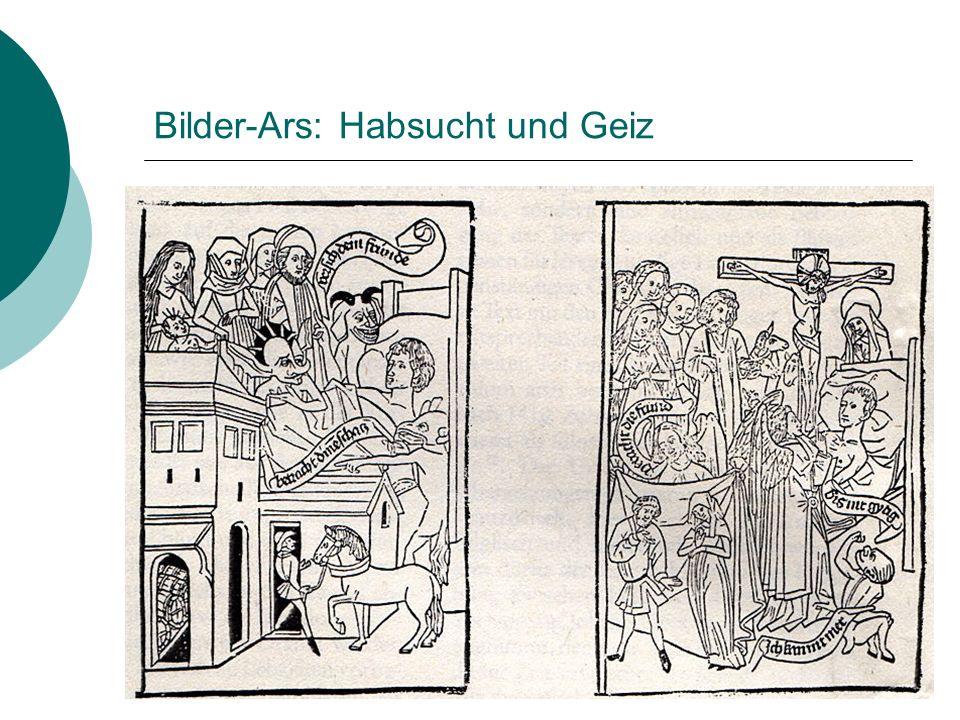 Bilder-Ars: Habsucht und Geiz