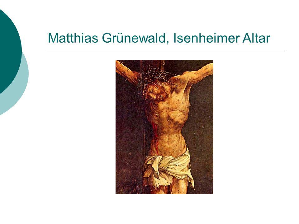 Matthias Grünewald, Isenheimer Altar
