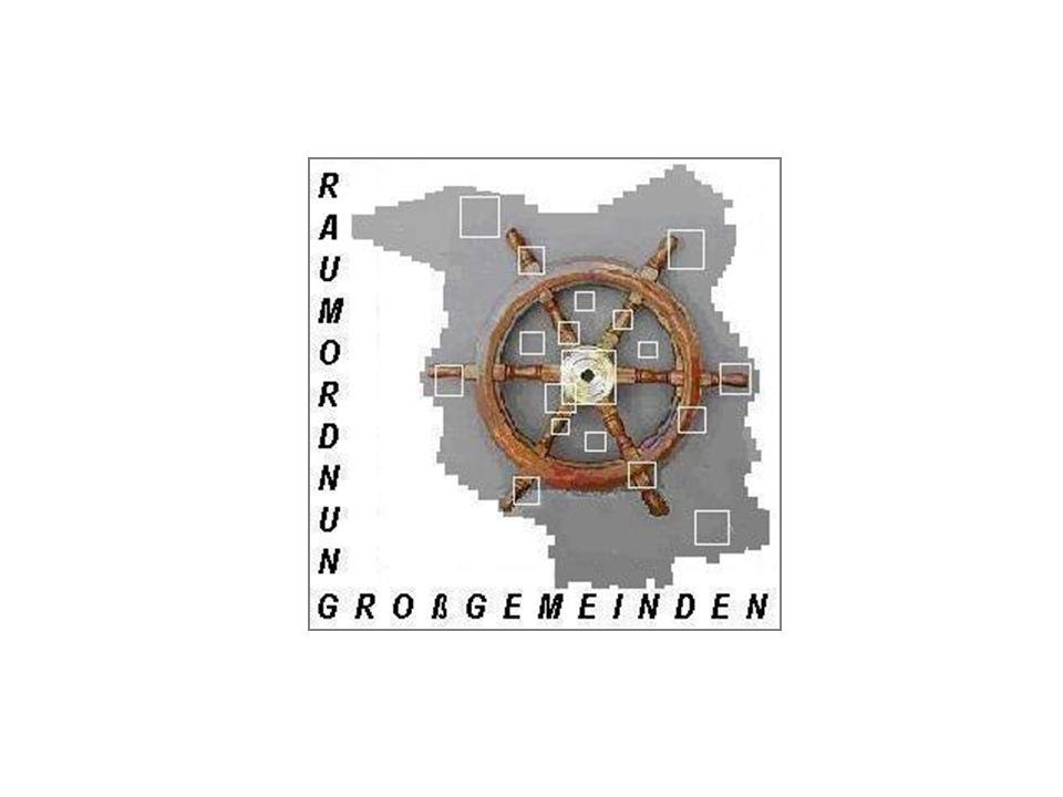 TU Berlin, ISR-Projekt Großgemeinden und Raumordnung 2003/04 Großgemeinden & Raumordnung Arbeitsgruppe: Örtliche Ebene
