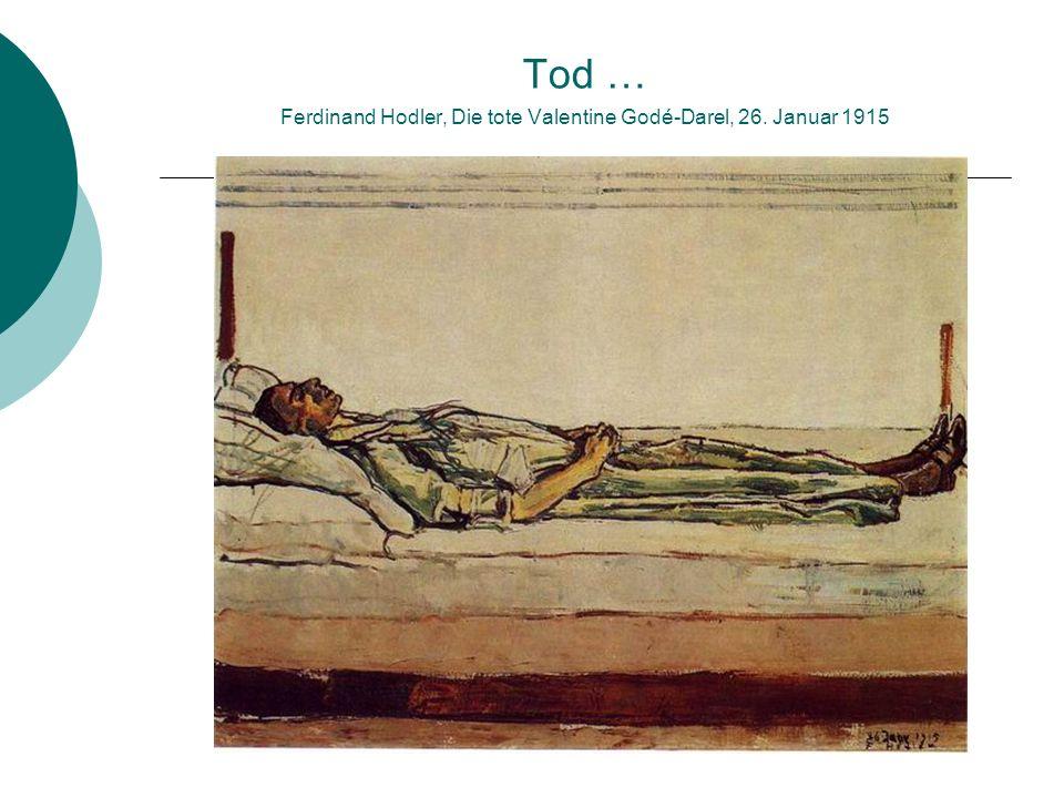 … und Verklärung Ferdinand Hodler, Sonnenuntergang am Genfersee, 1915