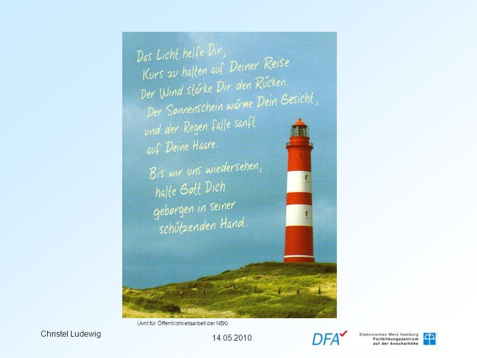 14.05.2010 Christel Ludewig (Amt für Öffentlichkeitsarbeit der NEK)