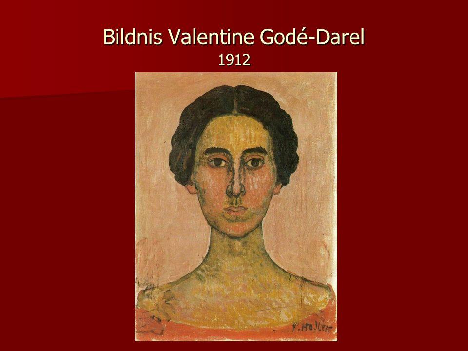 Bildnis Valentine Godé-Darel 1912