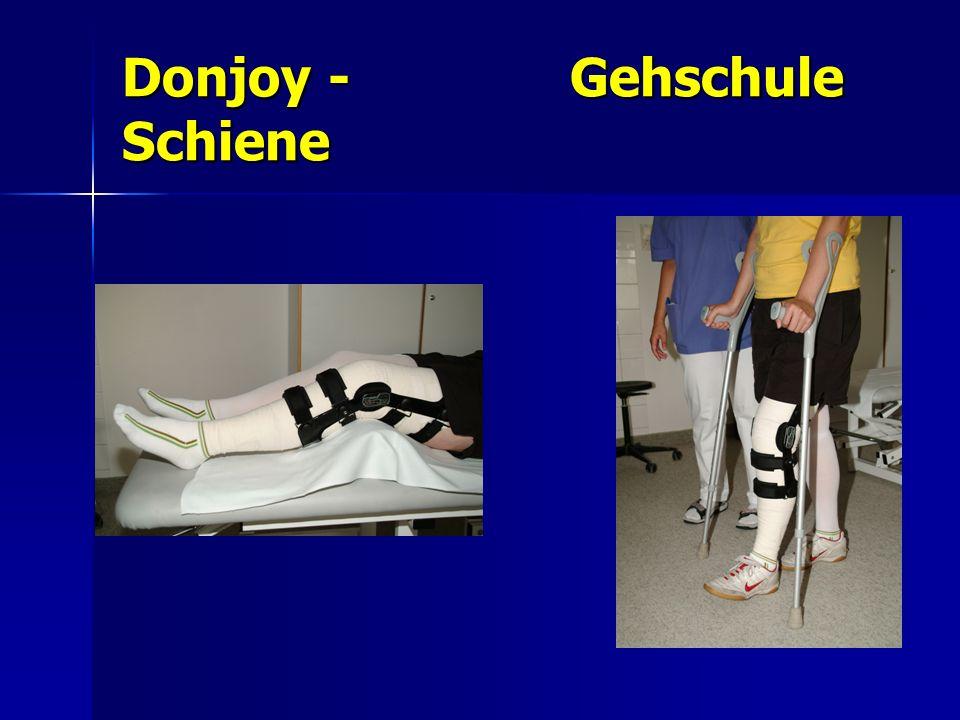Donjoy - Gehschule Schiene