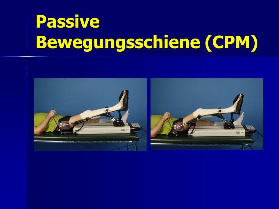 Passive Bewegungsschiene (CPM)