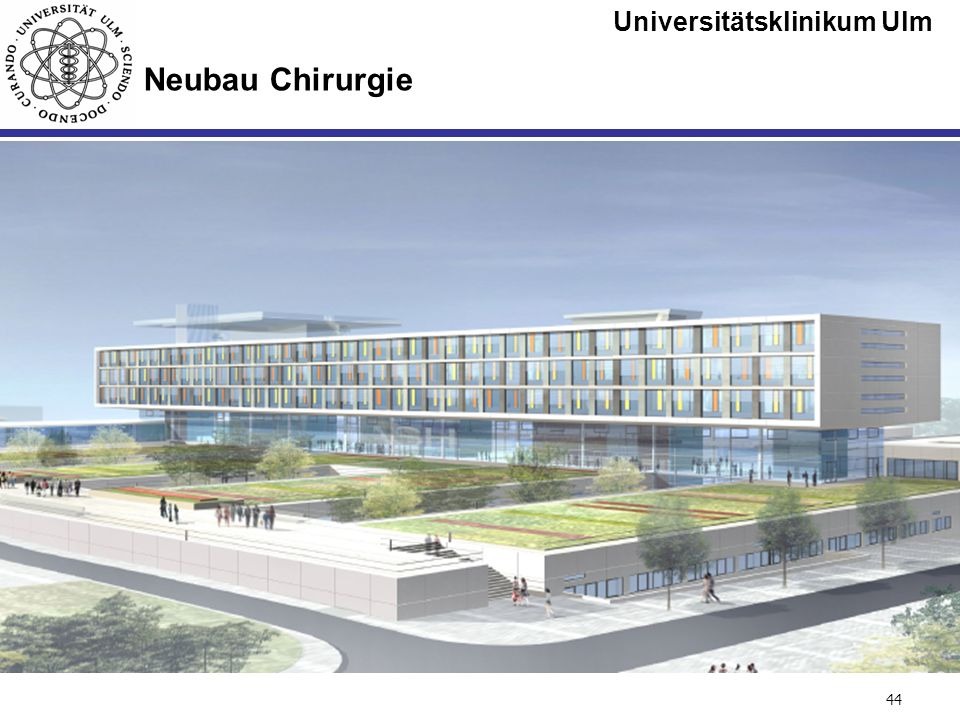 Universitätsklinikum Ulm Seite #44 Neubau Chirurgie
