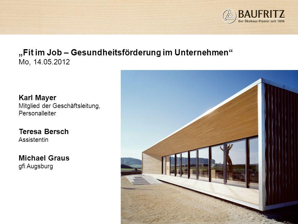 Gründung im Jahre 1896 als klassische Zimmerei Stammsitz in Erkheim im Allgäu 100 % Familienbesitz ca.