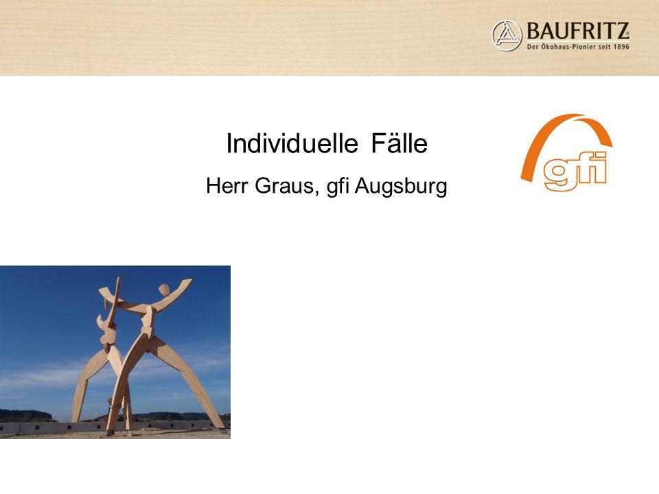 Individuelle Fälle Herr Graus, gfi Augsburg
