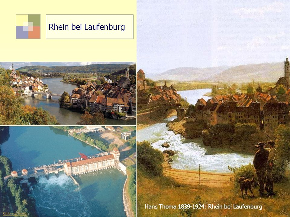 5Sektorale Planung I - TU Berlin - ISR - SoSe 2007 Rhein bei Laufenburg Hans Thoma 1839-1924: Rhein bei Laufenburg Quelle http://www.laufenburg.org Bi