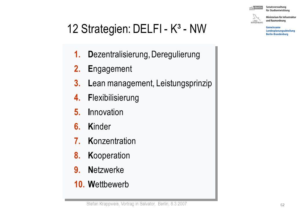 Stefan Krappweis, Vortrag in Salvator, Berlin, 8.3.2007 61 Elterngeld Vize-Regierungssprecher Thomas Steg: Elterngeld bedeutet kopernikanische Wende i
