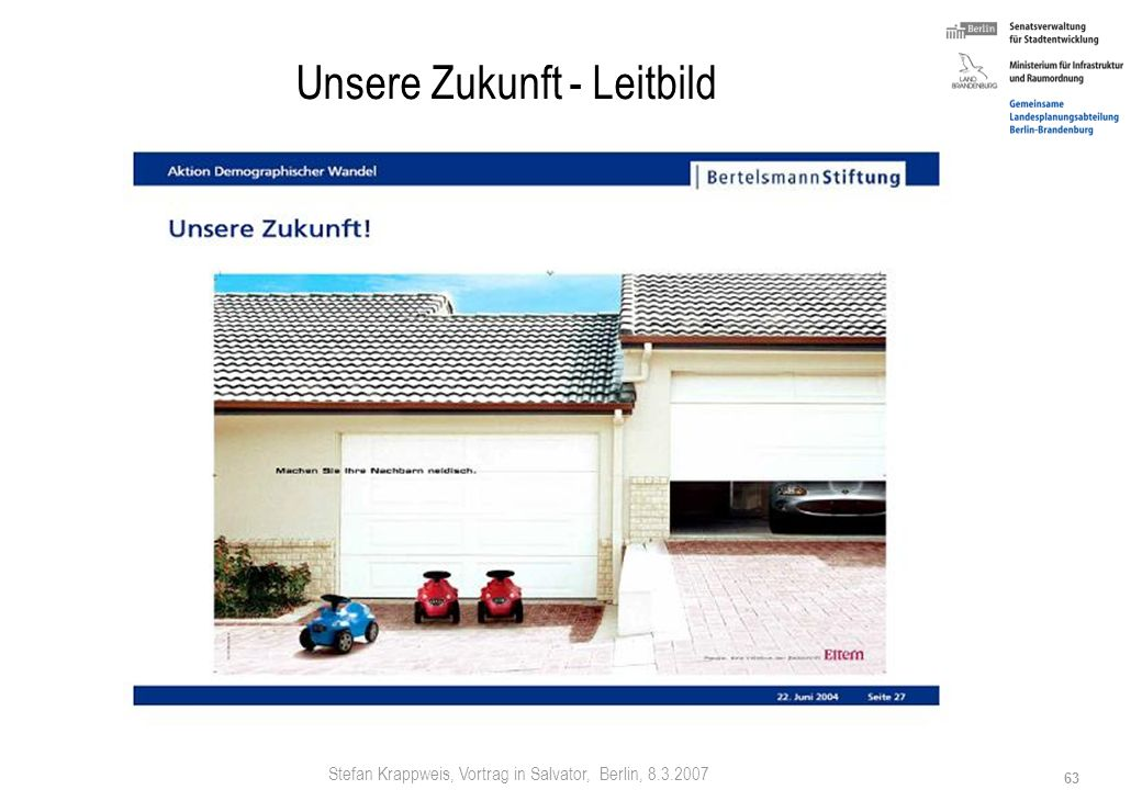 Stefan Krappweis, Vortrag in Salvator, Berlin, 8.3.2007 62 12 Strategien: DELFI - K³ - NW 1. D ezentralisierung, Deregulierung 2. E ngagement 3. L ean