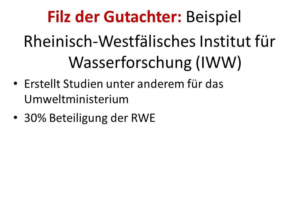 Filz der Kommunalpolitik: Beispiel Wolfgang Spelthahn (CDU) Aufsichtsrat bei RWE und Landrat des Kreises Düren. Das heißt: Oberster Behördenchef Poliz