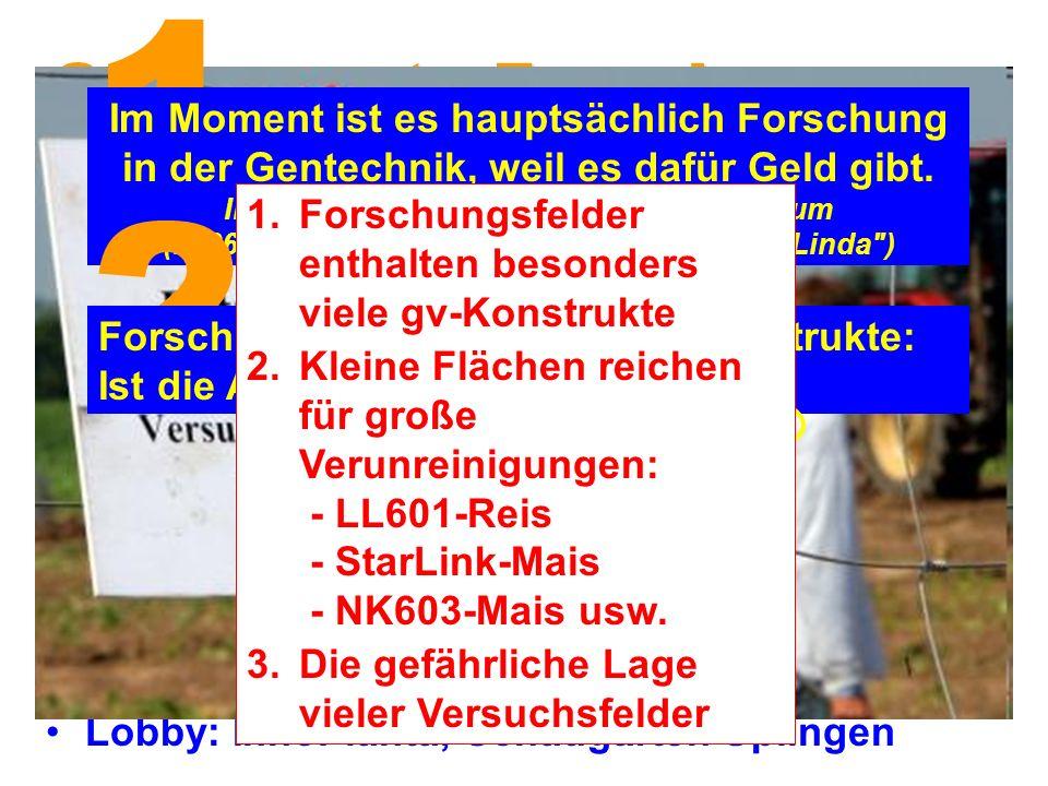 Sogenannte Forschung: Die Börde – Zentrum der Agrogentechnik.