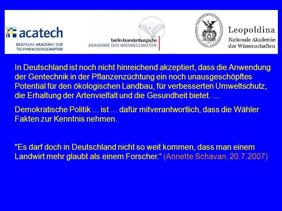 Schaugarten, u.a.BASF-Pflanzen Frage an Kerstin Schmidt beim Thema von BT-Schädlichkeit z.B.