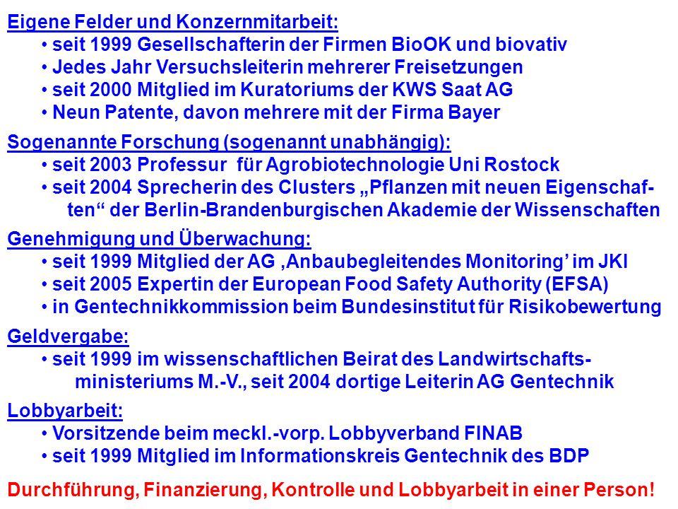 Forscht an der Uni Rostock Gründete mit Kerstin Schmidt den Lobbyverein FINAB e.V.