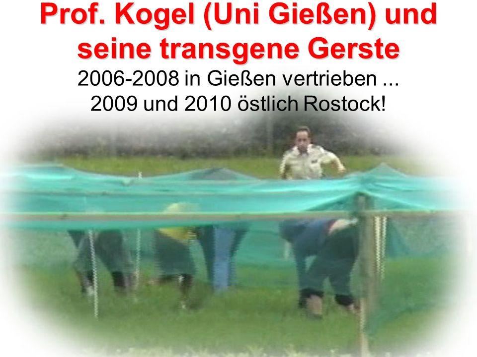 Gerstenfeld vor Gericht Die Verantwortlichen des Versuchs: Gut im Marketing, fachlich aber völlig unqualifiziert...