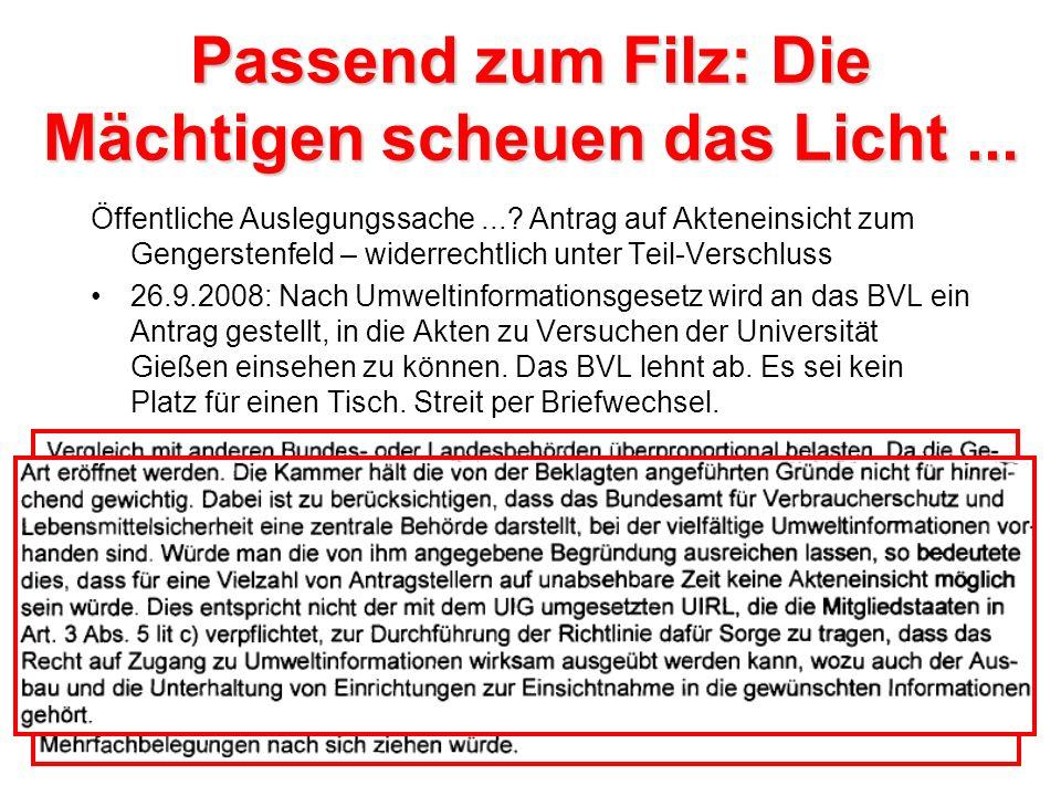 Prof. Kogel im Geflecht der Gentechnik-Seilschaften Die Biologen-Clique aus Aachen: Prof. Karl-Heinz Kogel und Dr. Gregor Langen Dr. Detlev Bartsch un