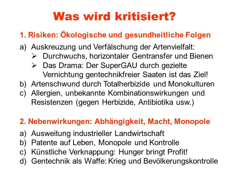 Hauptberuf: Behörde.Leiter der Abt. Gentechnik an Julius-Kühn-Institut.