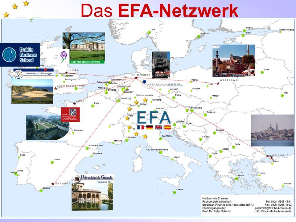 Das EFA-Netzwerk