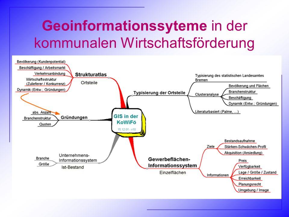 Geoinformationssyteme in der kommunalen Wirtschaftsförderung