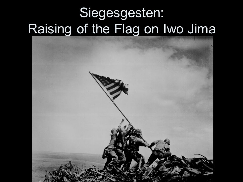 Raising of the Flag on Iwo Jima im Film