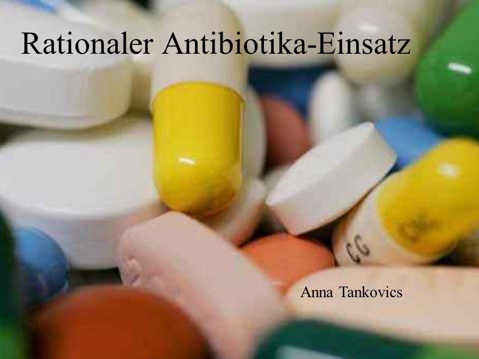 Rationaler Antibiotika-Einsatz Anna Tankovics