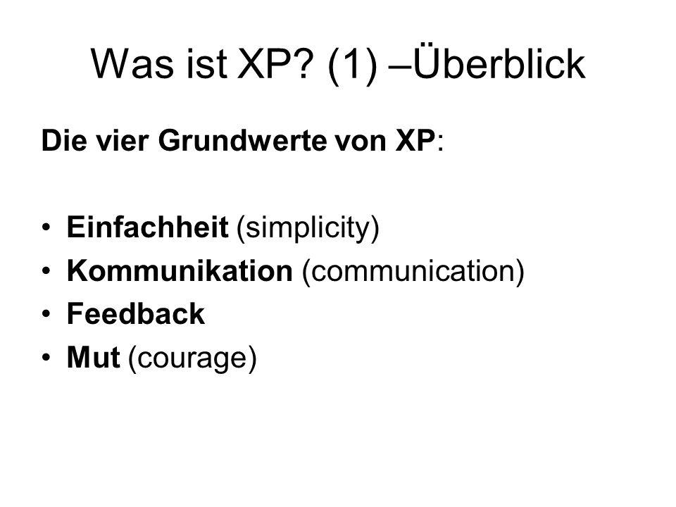 Was ist XP.