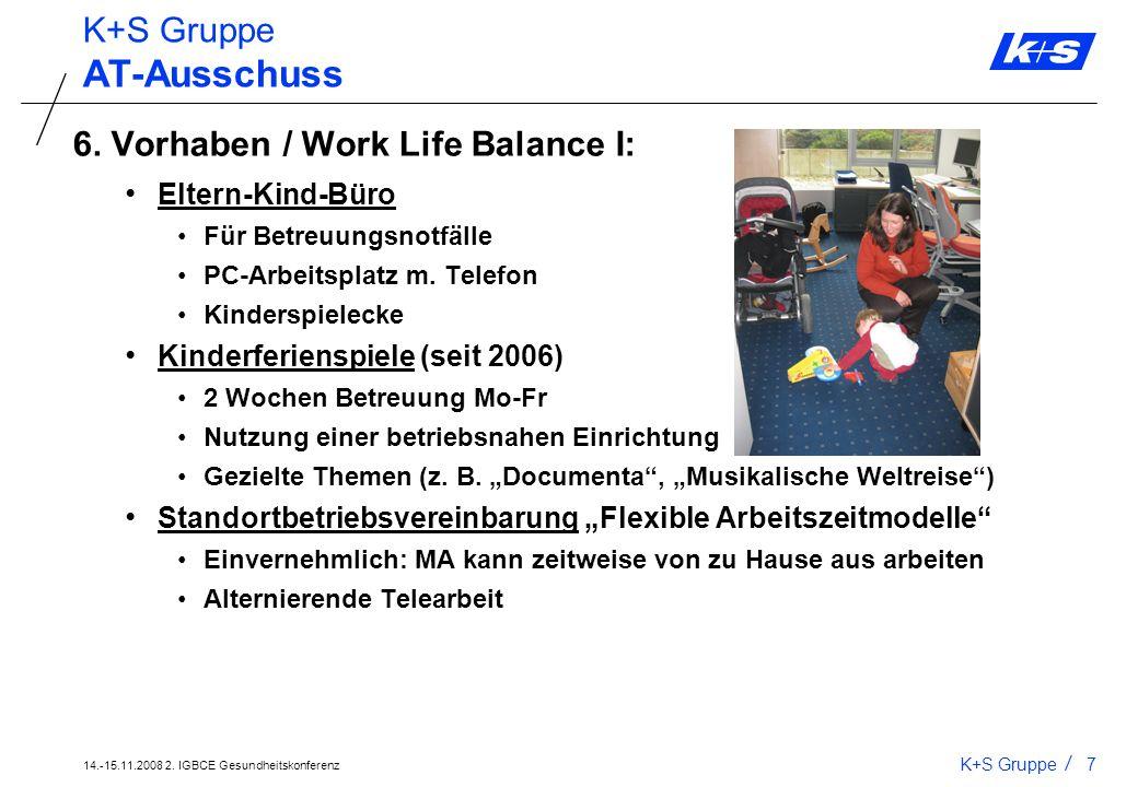 14.-15.11.2008 2. IGBCE Gesundheitskonferenz K+S Gruppe6 AT-Ausschuss 5. Seminare: Nichtraucher-Seminare (Nichtraucher in 5 Stunden) Seminar Schlank i