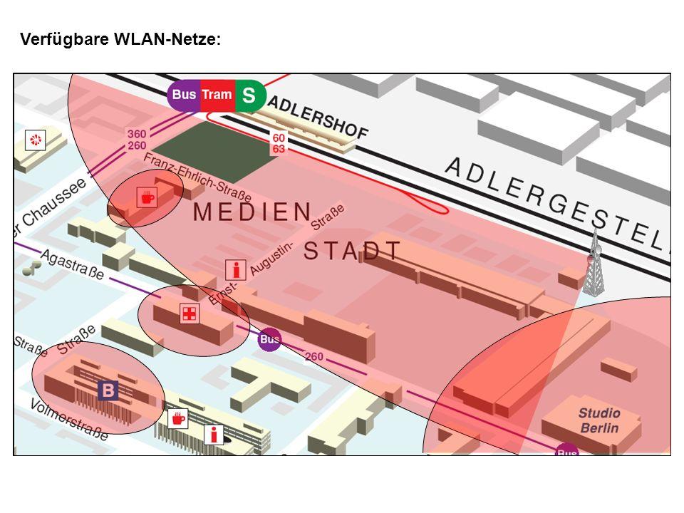 Verfügbare WLAN-Netze: