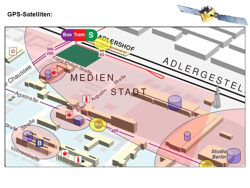 GPS-Satelliten: