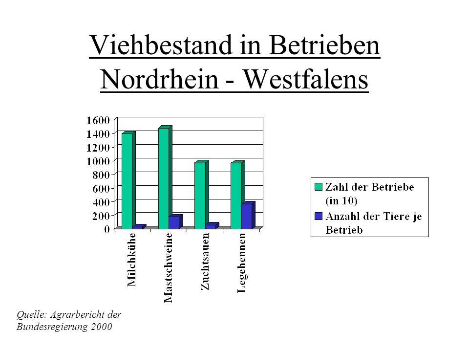 Nordrhein-Westfalen Gesamtfläche: 34 069 Quadratkilometer In Nordrhein - Westfalen ist der deutliche Rückgang der durchschnittlichen Gewinne in starke