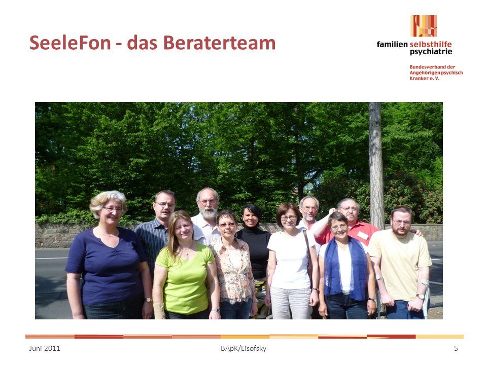 SeeleFon - das Beraterteam Juni 20115BApK/Lisofsky