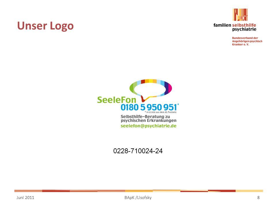 Unser Logo Juni 20118BApK /Lisofsky 0228-710024-24