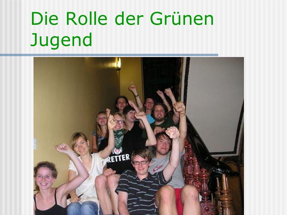 Die Rolle der Grünen Jugend